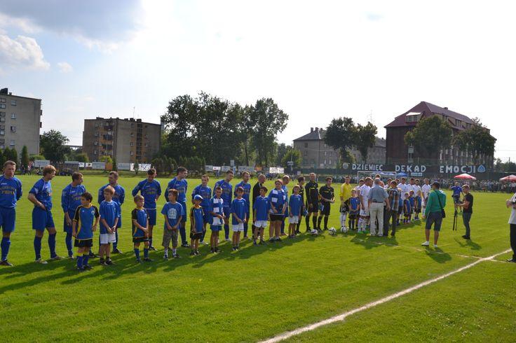 Mecz Górnik Radlin vs Ruch Chorzów 2013r. (Foto: Marek Gajda)