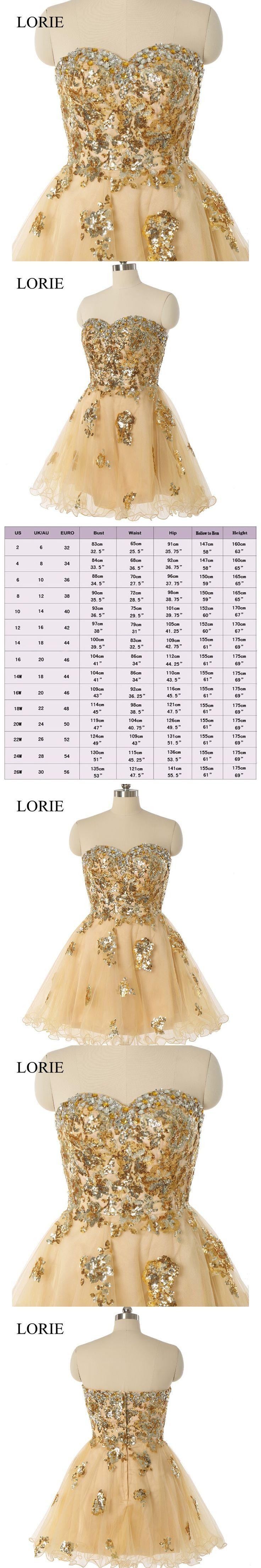 Sparking Gold Sequin Short Prom Dresses 2017 Robe De Soiree Sweethert Crystals Beaded Teens Graduacion Masquerade Party Dresses
