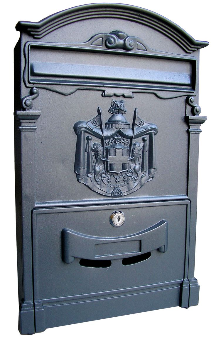 Wall Mounted Mailbox with Locking