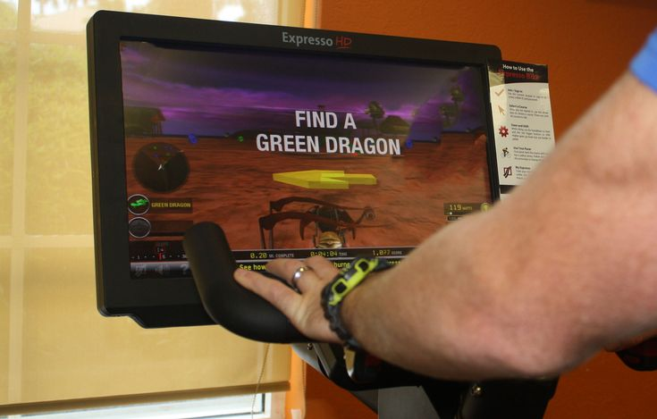 Boca Grove Fitness Center and the Expresso Bike Dragon Chase Challenge! Part video game, part cardio and a whole lot of fun!