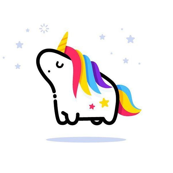 25+ best ideas about Unicorn logo on Pinterest : Joie baby ...