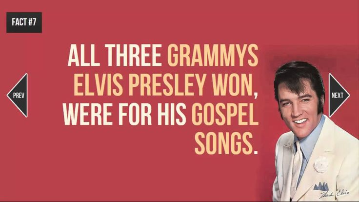 19 Facts About Elvis Presley