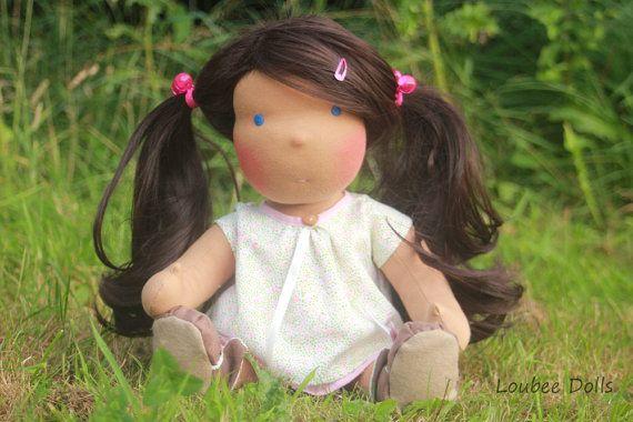 Custom made doll for Erin Bradshaw by louisejedi on Etsy, $135.00