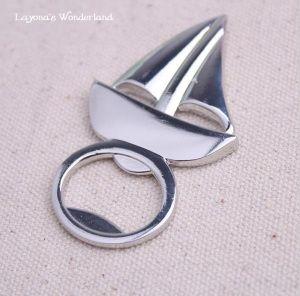 #Μπομπονιέρα #Γάμου - #Βάπτισης #Ανοιχτήρι #Καραβάκι