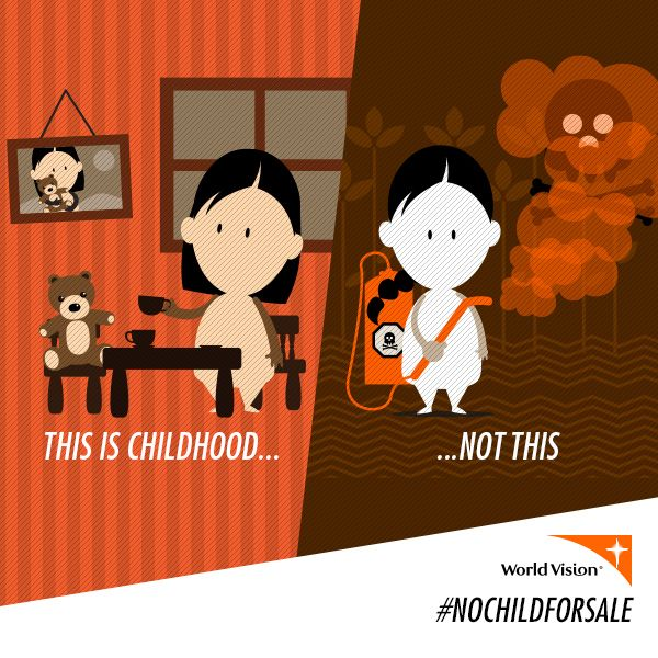 Not every child gets a chance to play. Fight child slavery at http://ow.ly/wVrSb #NoChildForSale