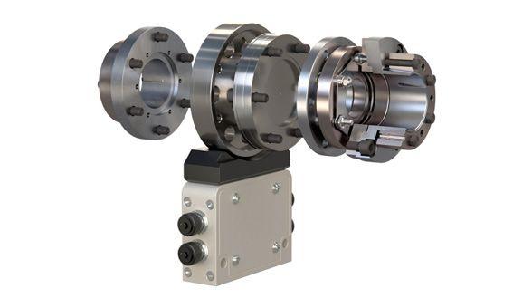 Acoplamientos para ejes ROBA®-DS, resistentes a la torsión y sin juego, para las bridas de medición en los transductores de par