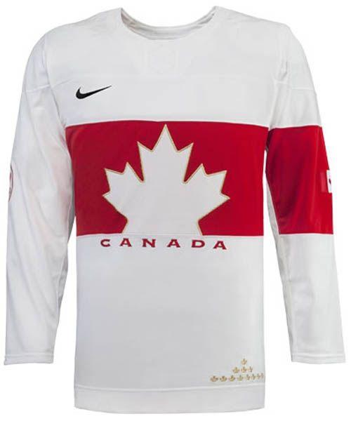 NIKE TEAM CANADA 2014 OLYMPIC WHITE SR JERSEY : Pro Hockey Life / Sports Rousseau / Entrepot du Hockey, The Ultimate Hockey Mega-Store
