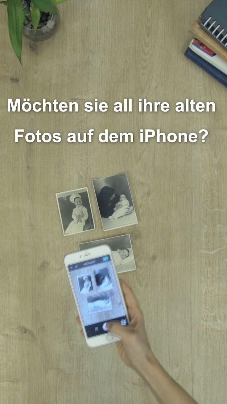 Scannen Sie alte Fotos. Halten Sie Ihre Erinnerungen sicher für immer.