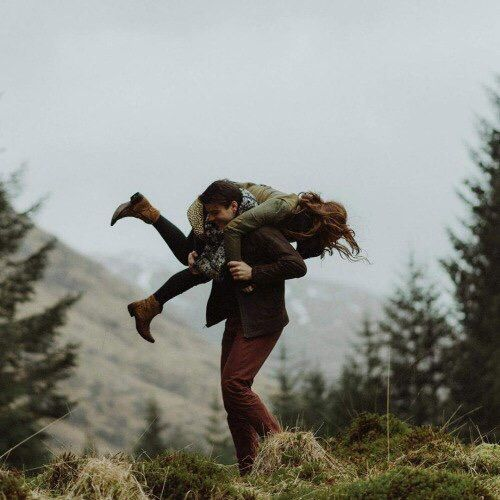 Joshua and Halloway's favourite place in the whole world was the mountains, she could practice her craft and he could love her in his way.