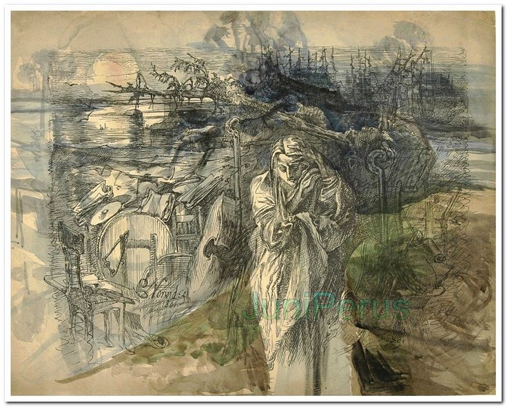 Cyprian Kamil Norwid, Solo (Melancholia) 1861