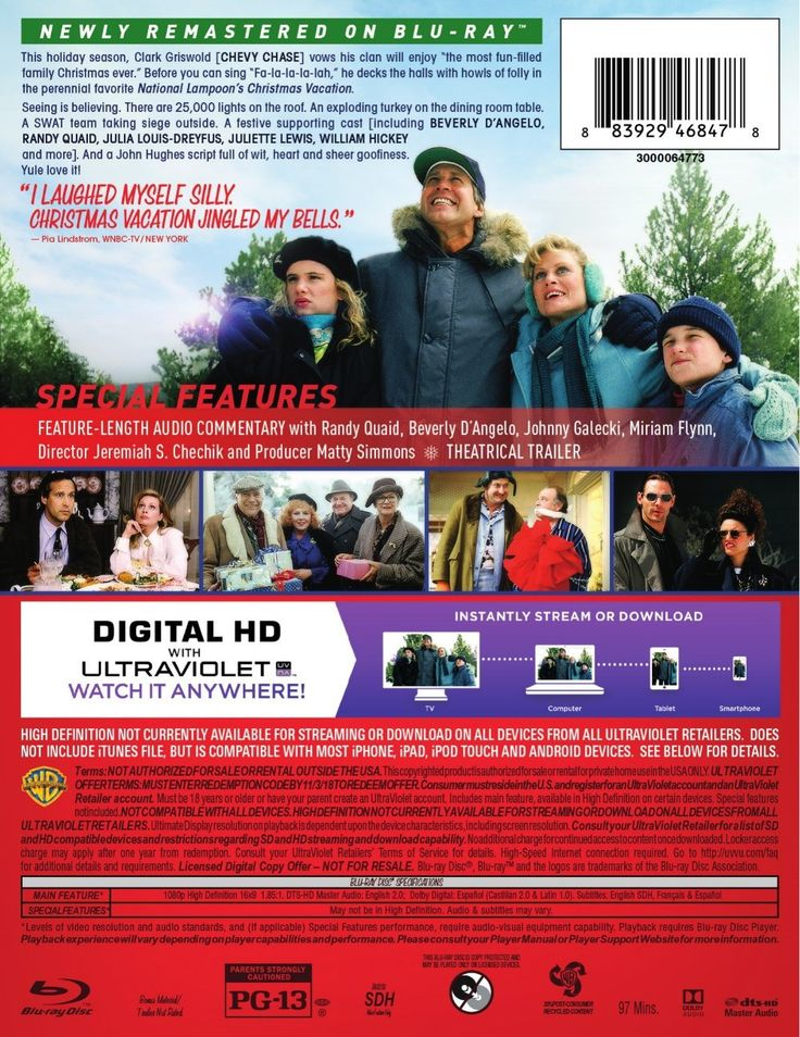 National Lampoon's Christmas Vacation Blu-ray: 25th