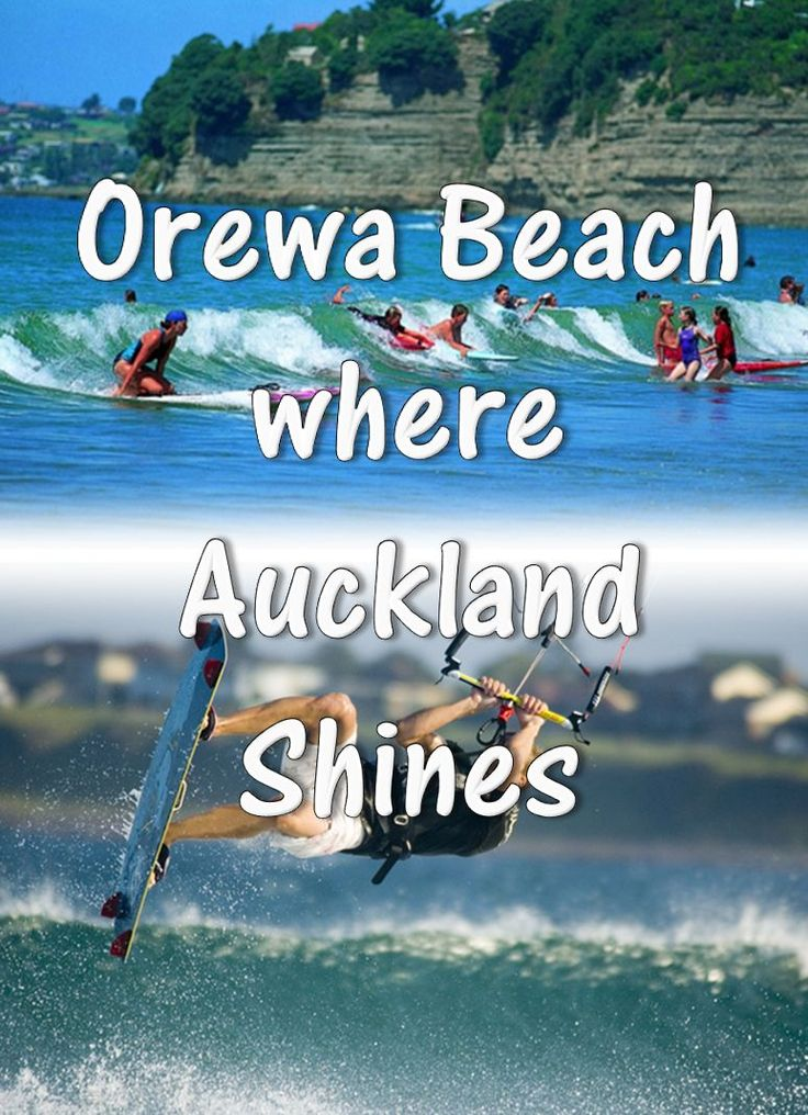 Orewa is a popular coastal town just 25 minutes north of Auckland city - beautiful pristine beach, shops, cafes and bars - not to be missed on a visit to the Hibiscus Coast