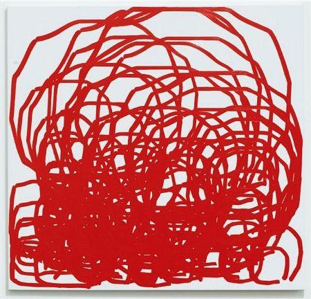Simon Ingram, Aldra Island, 2011, oil on canvas, 1700 x 1700 mm