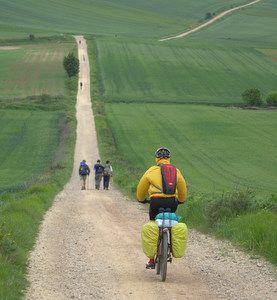 Camino de Santiago by Bike. Got the bike, just missing the Camino =)
