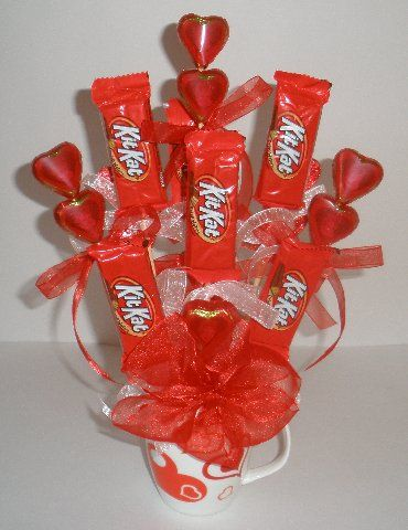 """how to make dove candy bouquet 