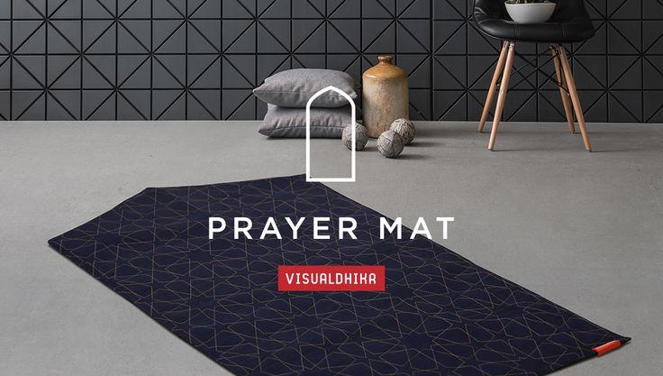Visual Dhikr prayer mats, Islamic art, calligraphy prints, home decor and Muslim fashion by British artist and designer Ruh Al-Alam