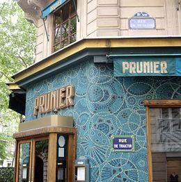 Prunier, Rue de Traktir, Paris 16.jpg                                                                                                                                                                                 Plus