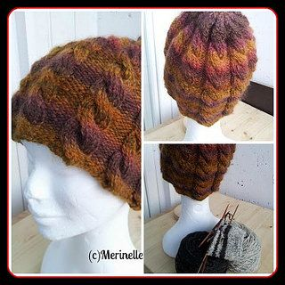 #handspun #cables #hat