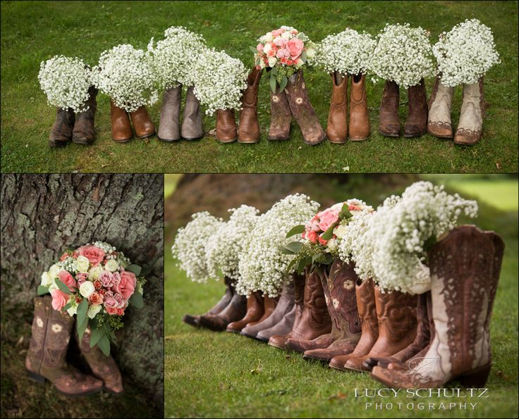 cowboy boots bridal party cowboy boots country wedding photographer lucy schultz photography