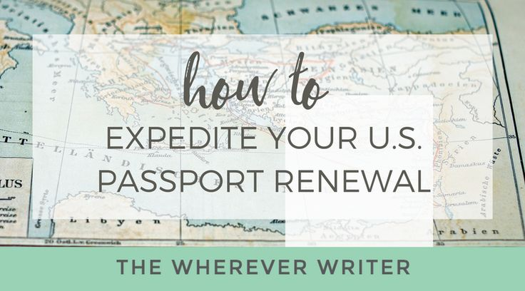 Stressed out about how to renew a US passport? Get ALL the details on how I got my US passport renewal expedited by mail—and got a new one in just 11 days! Find out how.