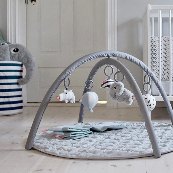 Done by Deer - speelmat - Activity baby gym - grijs #kidsroom #kinderkamer #kinderzimmer #littlethingz2