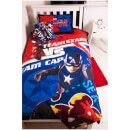 Character World Captain America: Civil War Bed Bundle - Single The comic book themed bedding features the Marvel Comics characters, Captain America and Iron Man, in the fantasy action film Captain America: Civil War. The bed bundle includes a single duvet cover w http://www.MightGet.com/january-2017-11/character-world-captain-america-civil-war-bed-bundle--single.asp