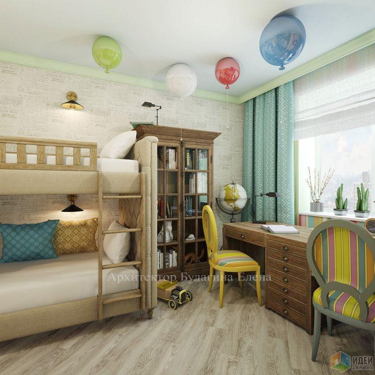 Фотографии [268428]: Детская комната для братьев от архитектора Елена Булагина