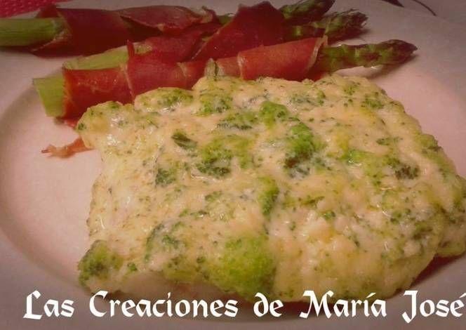 Abadejo con salsa de brocoli