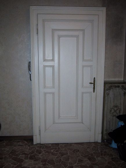 Porta blindata bianca - Fratelli Brivio #door