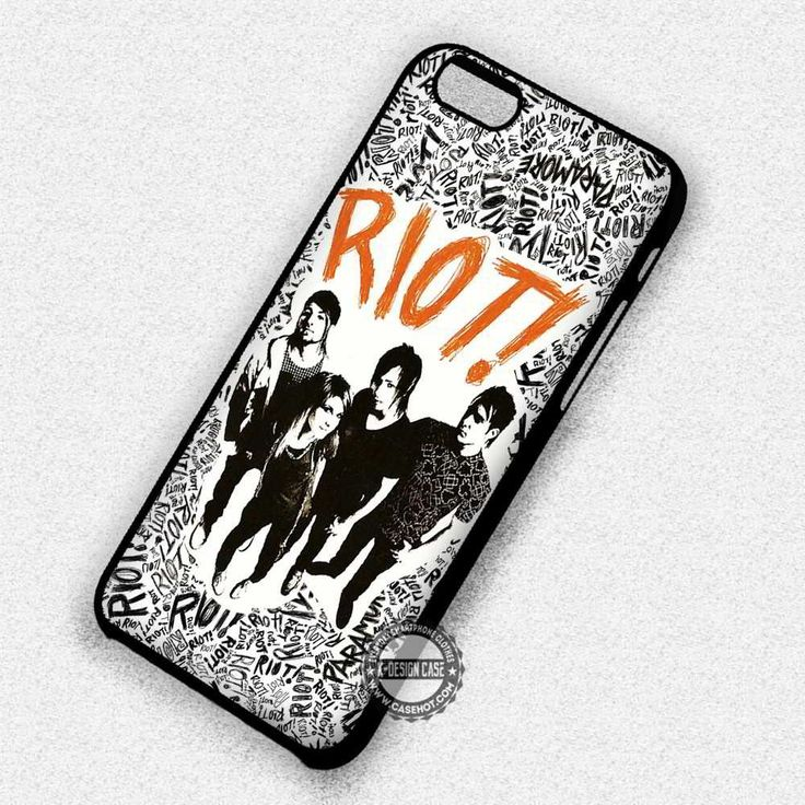 Riot Paramore Hayley - iPhone 7 6 Plus 5c 5s SE Cases & Covers