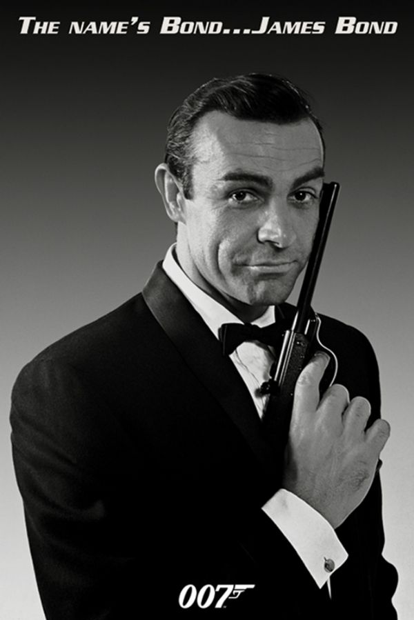 James Bond Sean Connery Poster