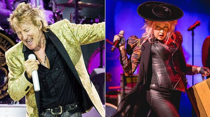 Rod Stewart and Cyndi Lauper / 2017 Tour