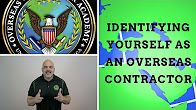 """""""How you identify yourself once you've secured that 6 figure job overseas? and we discuss what it means to be an Overseas Contractor. Watch Here:  #6figurejob #overseasjob #academy #contractor #job #YouTube #overseascontractoracademy"""""""