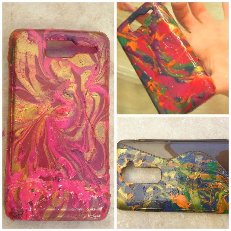 Aprende a decorar las fundas de tu celular con esmaltes - Decorar funda movil ...