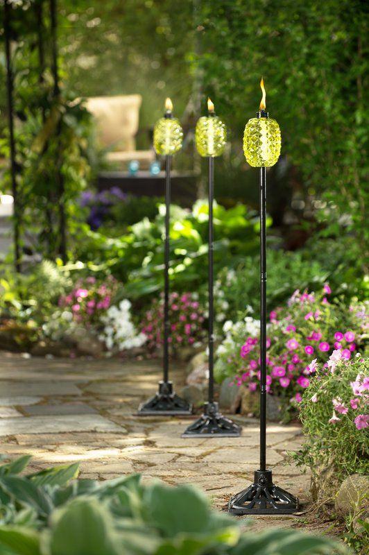 Aloha Pineapple Glass Garden Torch in 2018 | Life Outdoors | Pinterest | Tiki  decor, Decor and Tiki bar decor - Aloha Pineapple Glass Garden Torch In 2018 Life Outdoors