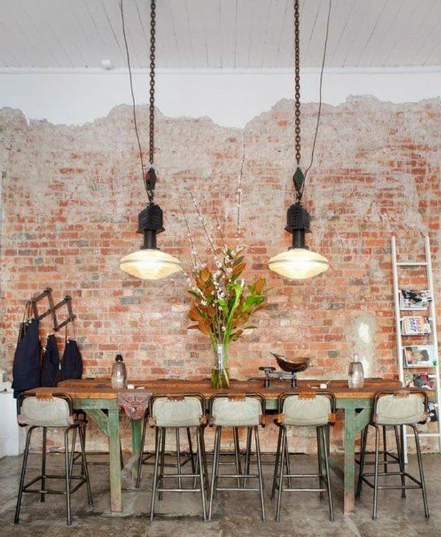 suspensions industrielles style loft