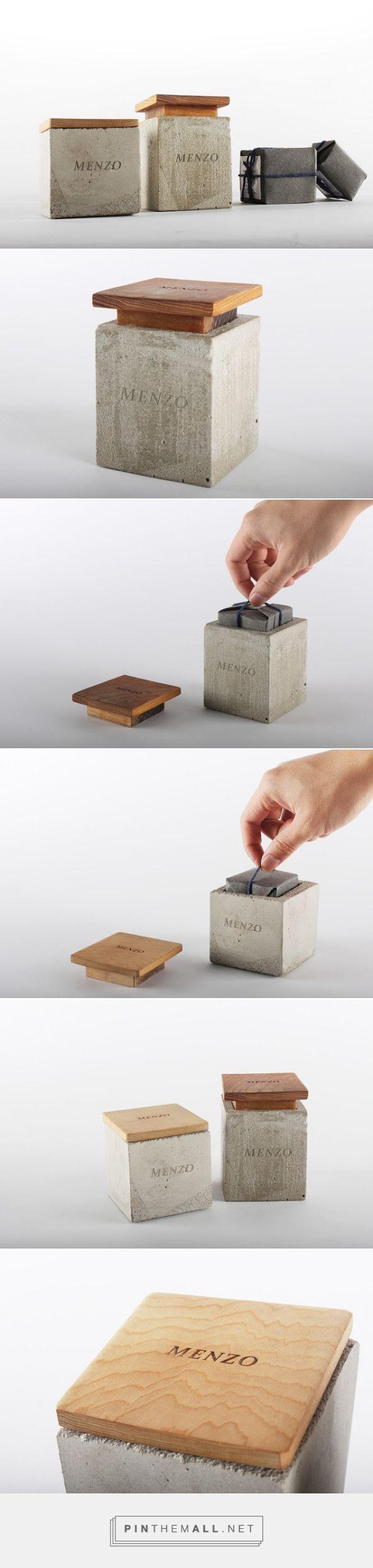 Menzo Men's #Soap #packaging by Yu-Heng Lin
