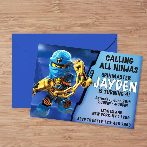 Lego Ninjago verjaardagsuitnodiging, Ninjago verjaardag, Ninjago uitnodiging, Lego Ninjago verjaardag, Ninjago Party, Ninjago verjaardagsuitnodiging
