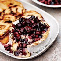 Grilled Cheese with Fresh Cherries