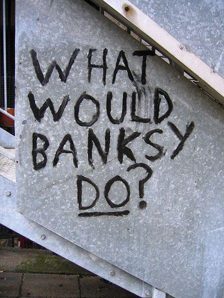 Banksy - Questions