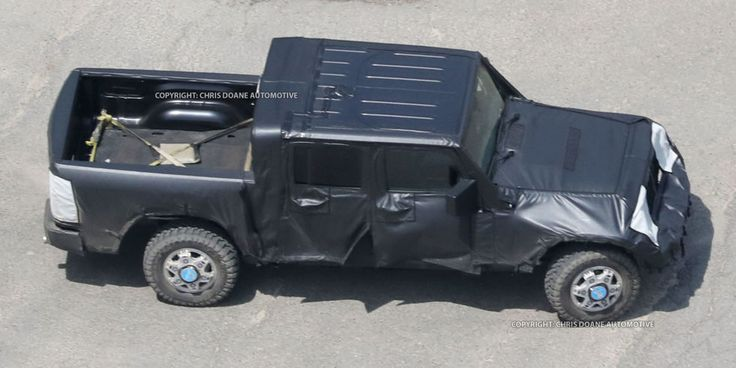 PROOF: This Is the Jeep Wrangler Pickup Truck  - PopularMechanics.com