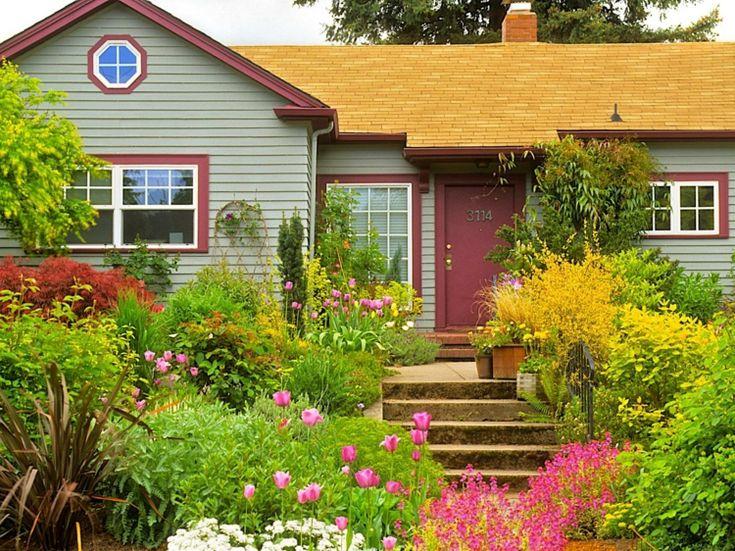 25+ parasta ideaa pinterestissä: steingartenpflanzen | vorgarten, Garten und bauen