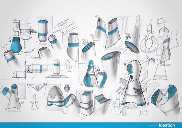 Ôyer - portable clothes dryer by Pengfei LI, via Behance