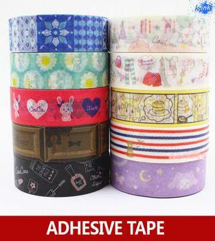 10M long New kawaii sheep / cosmetic / makeup washi paper tapes for scrapbooking , masking , DIY decoration