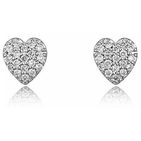 One More Boucles d'Oreilles Cœur Diamants Blancs 0.18ct Or Blanc 18K Matière : Or Blanc Or : Or 18 carats Couleur-Pureté : G-VS Couleur des diamants : Blanc Poids en or : 1,10 grammes Poids des diamants : 0,56 ...