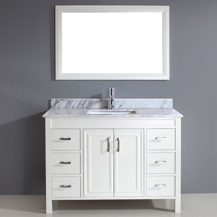 The Coraline seemingly formalist arrangement of drawers and doors interplays to form a vanity of understated grace. Custom-designed handles open industry leading Blum BluMotion soft-closing drawer glides. Your choice of countertop material crowns six generous drawers and a rectangular centered sink that skillfully references the exquisite millwork on the central doors.