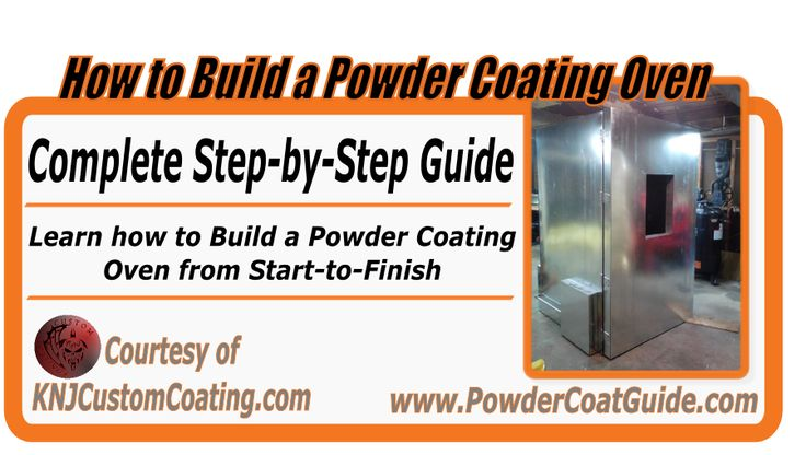 Learn how to build a powder coating oven with this step-by-step article. Check it out here: http://www.powdercoatguide.com/2014/09/how-to-build-powder-coating-oven.html