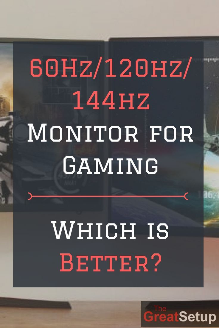 60Hz/120hz/144hz/240hz Monitor for Gaming: Which is the best monitor