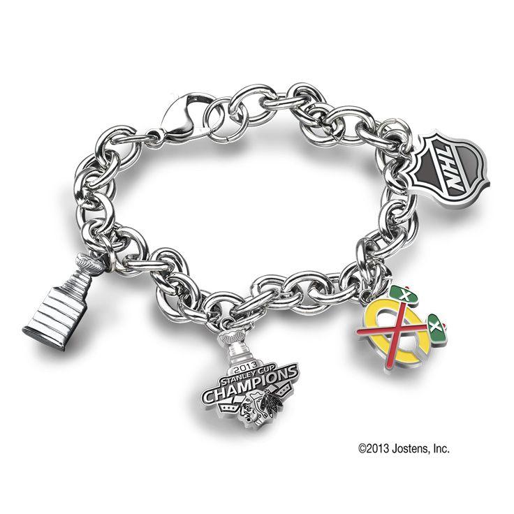Championship Charm Bracelet Jewelry Pinterest Chicago Blackhawks Hockey And Rings