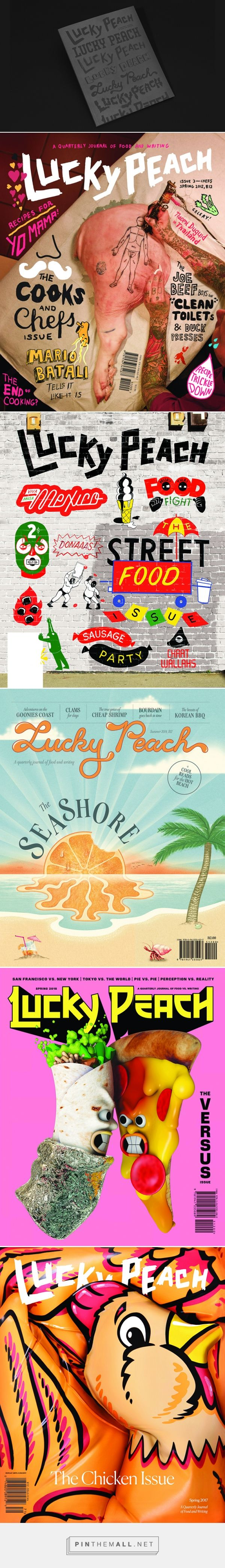 "It's Nice That | Lucky Peach comes to an end with a jam-packed ""best of"" final issue - created via https://pinthemall.net"